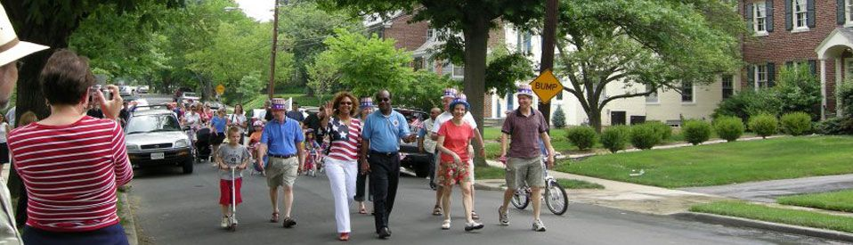 Chevy Chase Fourth of July Parade with Isiah Leggett