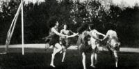 Rhythmic Dance, 1922-23 Chevy Chase Seminary (Yearbook).  CCHS 2003.19.04